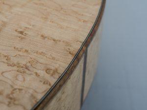 Weissenborn model III spruce / birds eye maple end block inlay koa