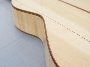 Weissenborn model III binding plum spruce / cipres