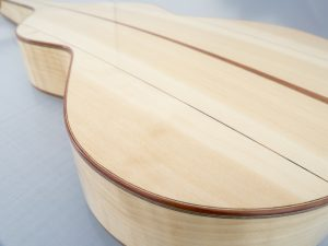 Weissenborn model III centre inlay plum spruce / ciphers